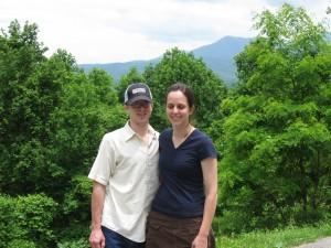 Adam & Julia at Great Smoky Mtn. National Park